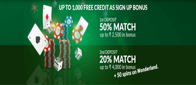 baazi247 Bonus