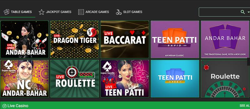 Baazi247 games