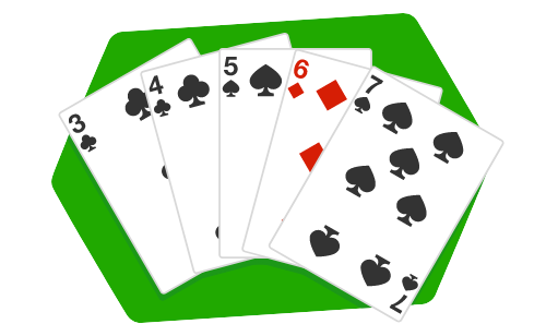 5 card hands in Poker