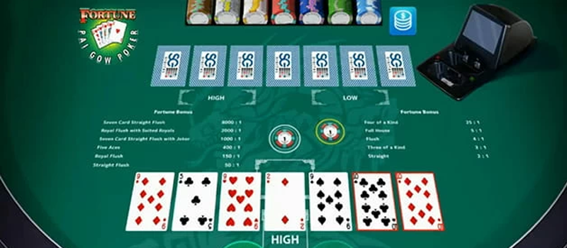 Banking Options in Pai Gow Poker